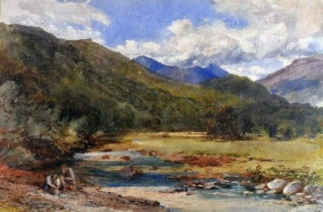 David Cox Watercolour