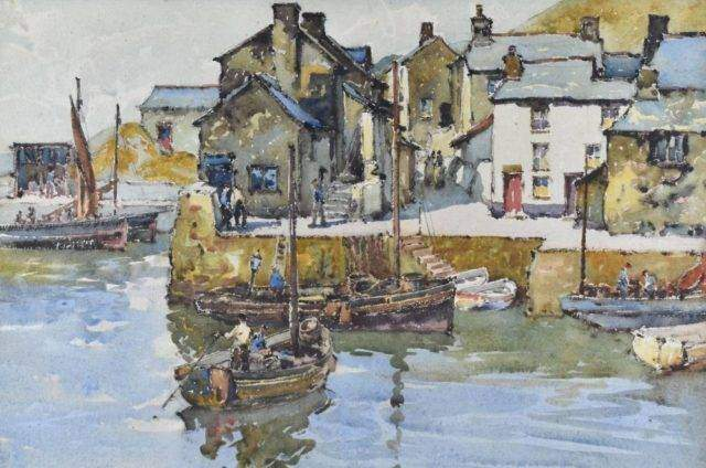 Will Evans Watercolour
