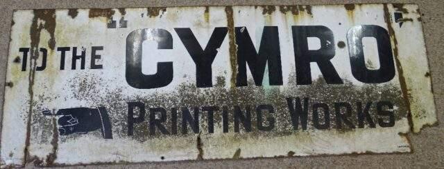 Cymro Printing Works
