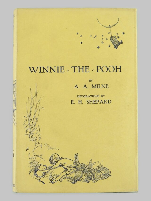Milne A A Winnie the Pooh First Edition