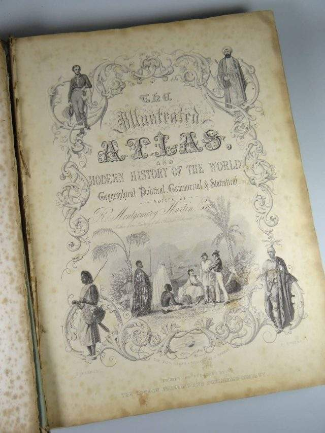 Tallis's Illustrated Atlas