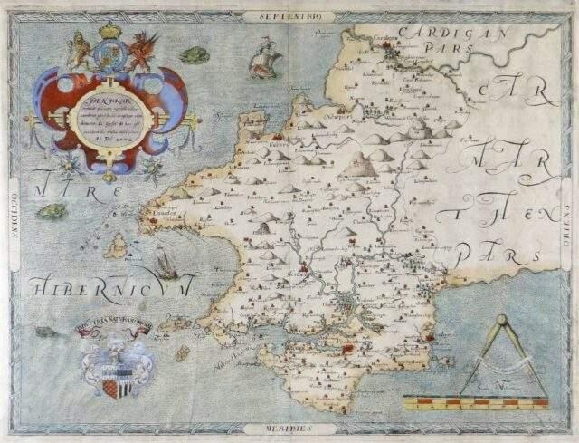 Christopher Saxton Map