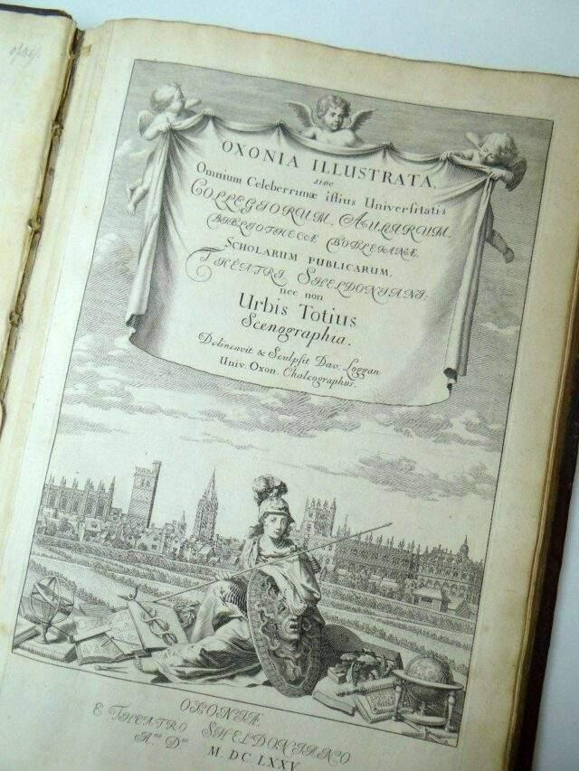 Loggan's Oxonia Illustrata