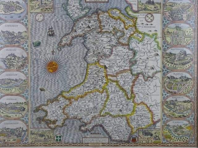 John Speed - Wales 1610