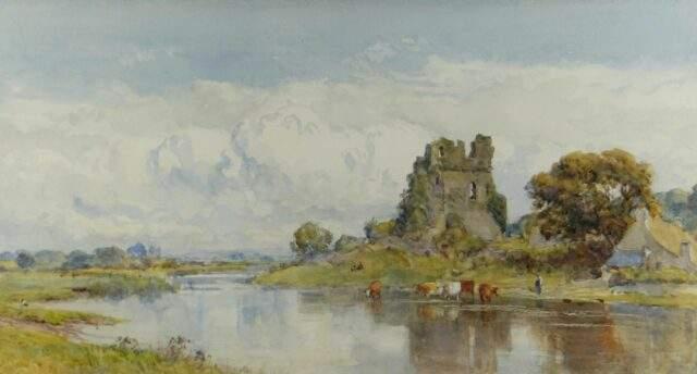 Sir Ernest Albert Waterlow RA Watercolour