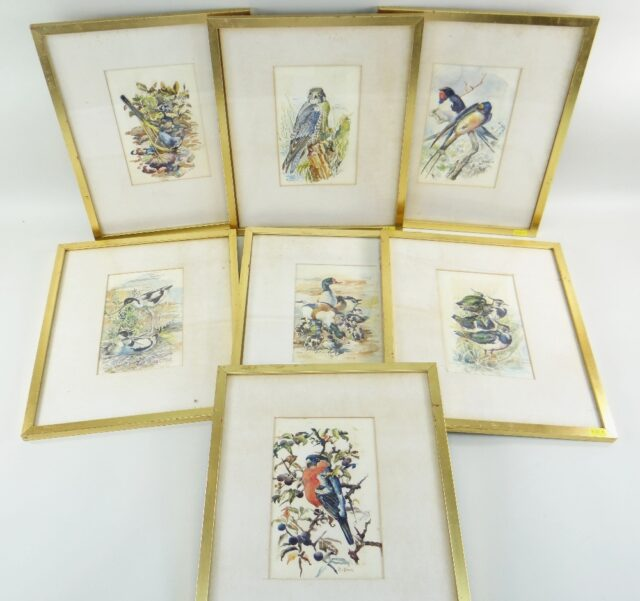 Charles Frederick Tunnicliffe OBE RA Set of Seven Watercolours