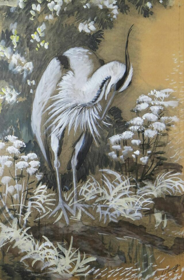 Charles Frederick Tunnicliffe OBE RA Watercolour