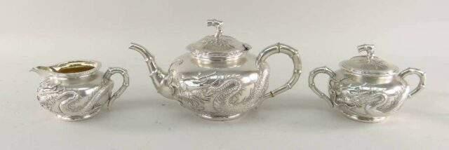 Wang Hing silver teaset
