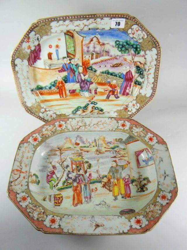 Chinese-export platters