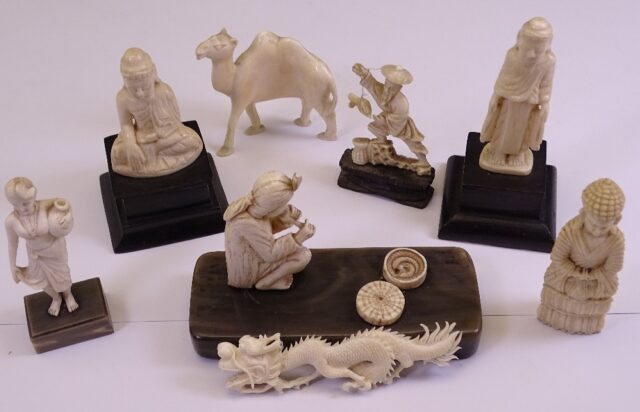 Early 20th Century Carved Ivory