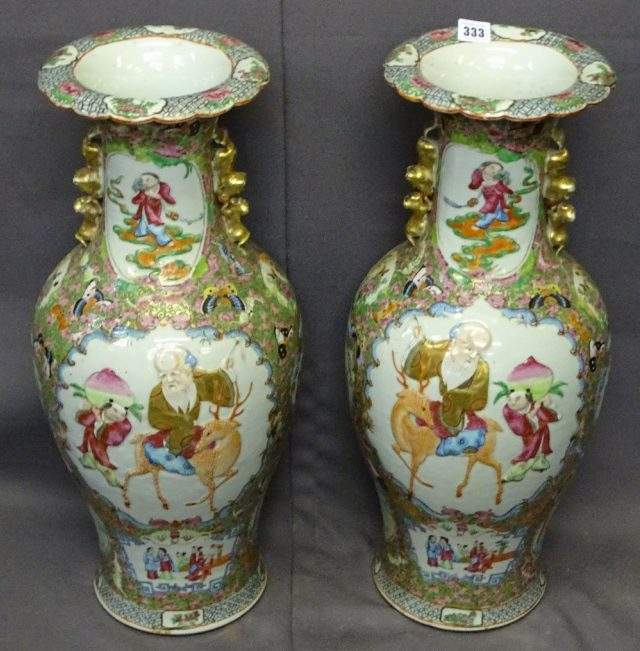 Canton Vases