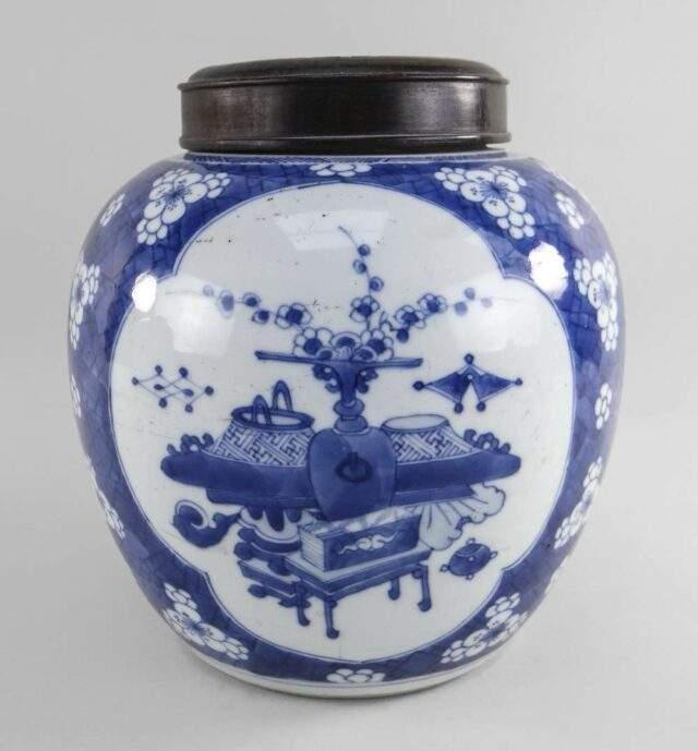 Chinese Hawthorn Jar