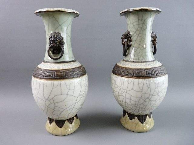 Crackle Vases