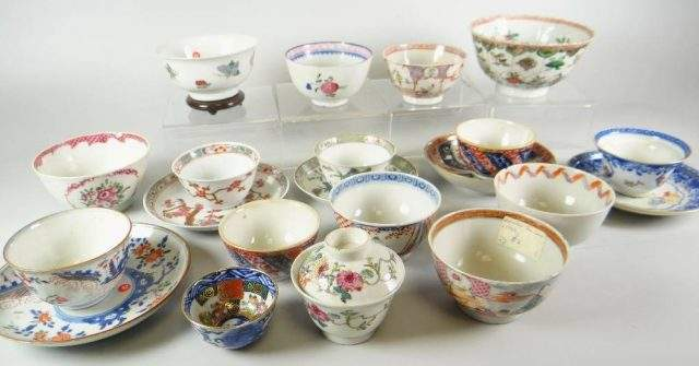 Group of tea-bowls