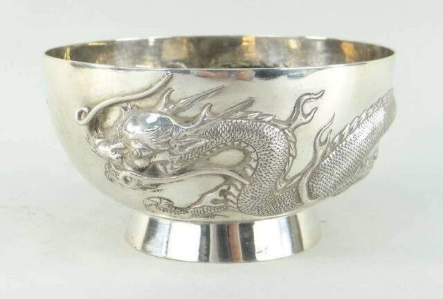Cheung Sing silver bowl