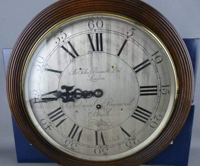 Sir John Bennett Bank Clock