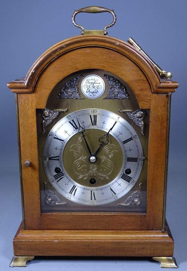 8 Day Westminster Mantel Clock