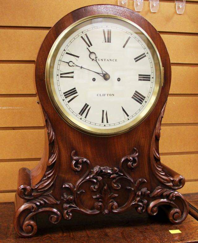 Fusee Table Clock