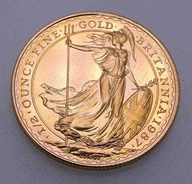 Gold Britannia £50 Coin
