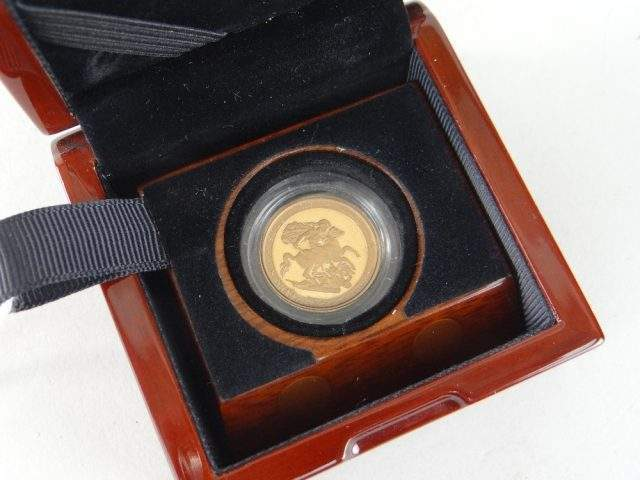 Gold Proof Sovereign