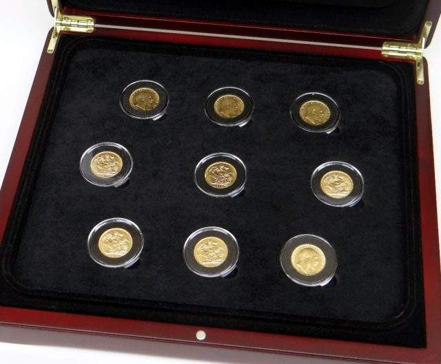 King Edward VII Sovereign Set