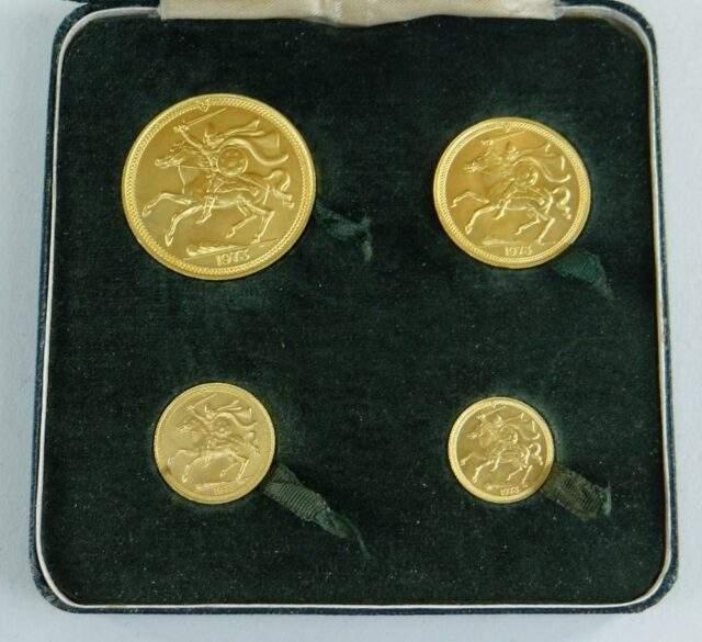 Pobjoy Mint Sovereign Set