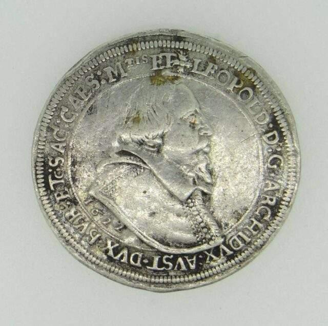 Leopold V Silver Thaler 1622