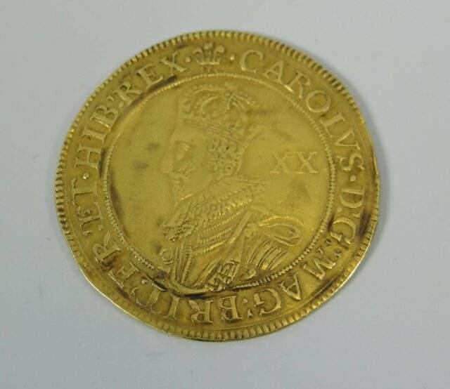 Gold Charles I Unite