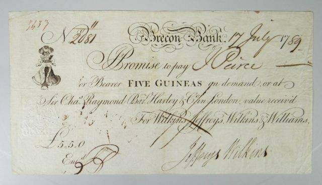 Brecon Banknote