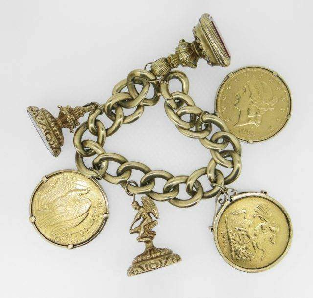 Sovereign & Dollar Bracelet