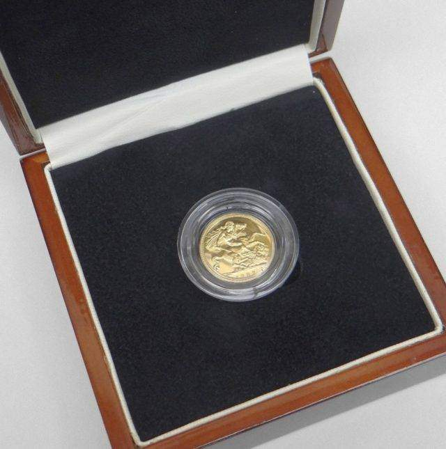 Proof Half Sovereign
