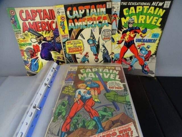 Captain Marvel / America