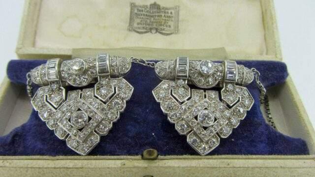 Art Deco Pendant Brooch