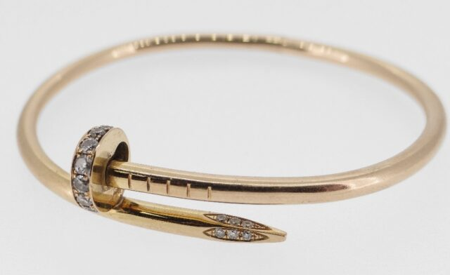 Cartier 18 CT Gold Diamond Bracelet