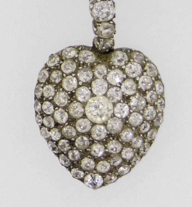 Diamond Encrusted Pendant