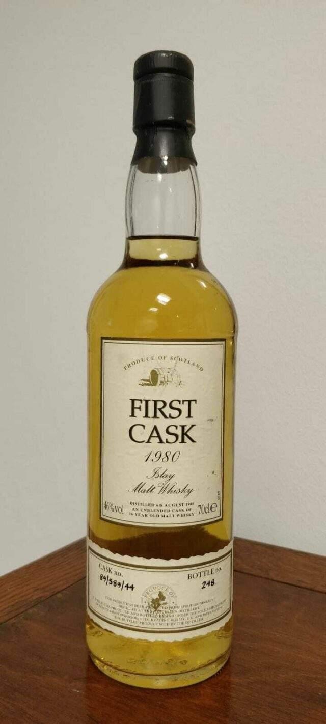 First Casl 1980 Malt Whisky