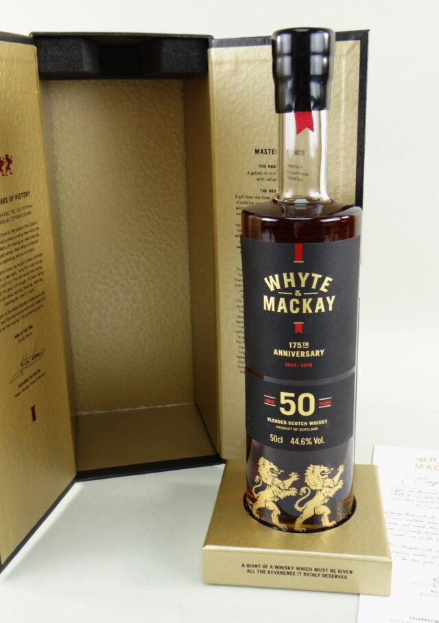 Whyte Mackay 175th Anniversary Whisky SOLD 500
