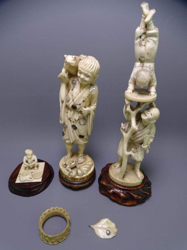 Ivory Okimono