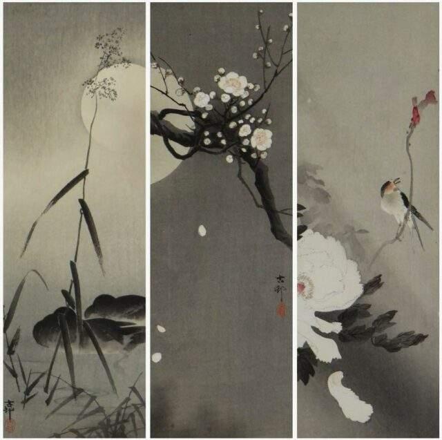 Ohara Koson Woodblock Prints
