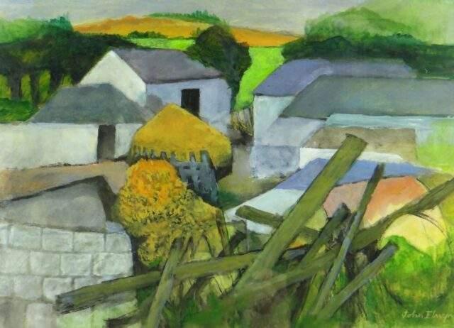 John Elwyn Gouache Acrylic