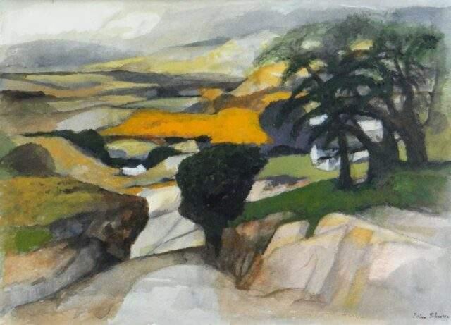 John Elwyn Watercolour