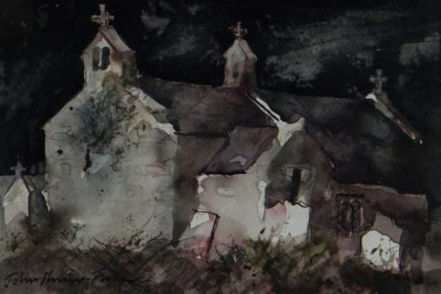John Kanapp Fisher Watercolour