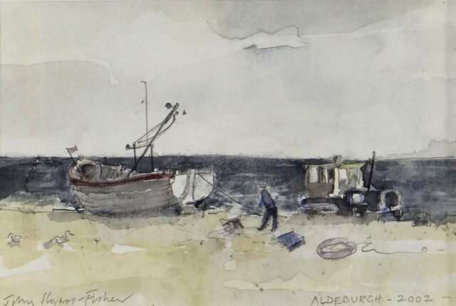 John Knapp Fisher Watercolour