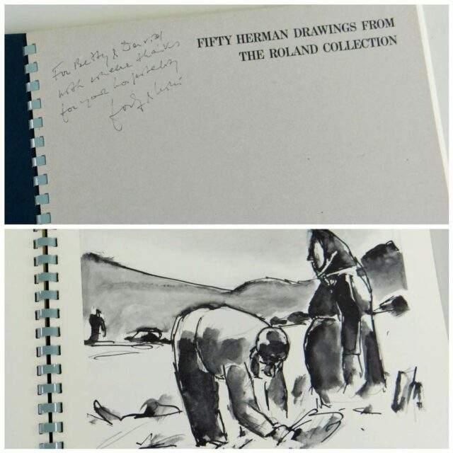 Josef Herman OBE RA Portfolio of Fifty Prints