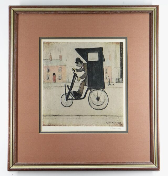 Laurence Stephen Lowry RA The Contraption Signed Print