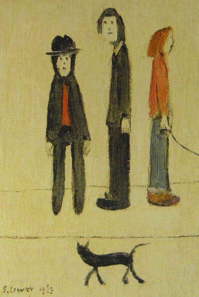 Three Men & a Cat