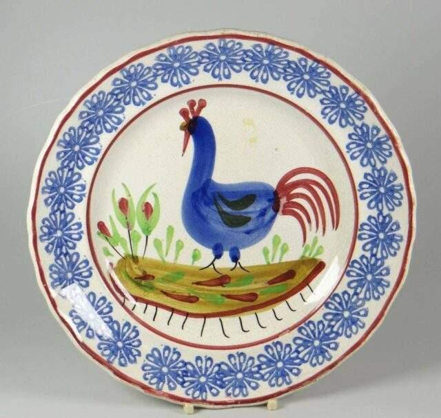 Cockerel Plate