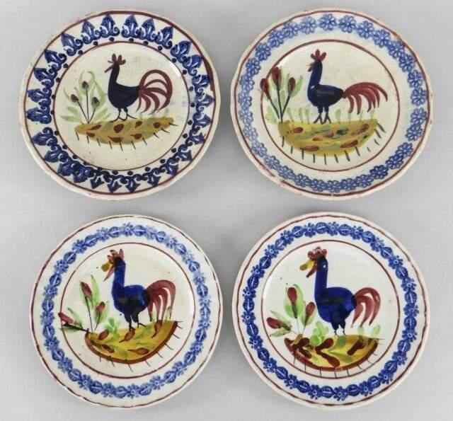Cockerel Plates