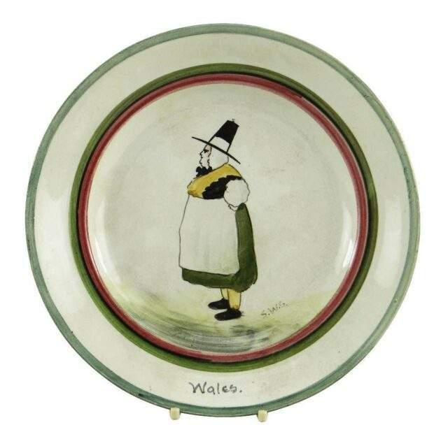 L Lanelly Plate by Shufflebotham