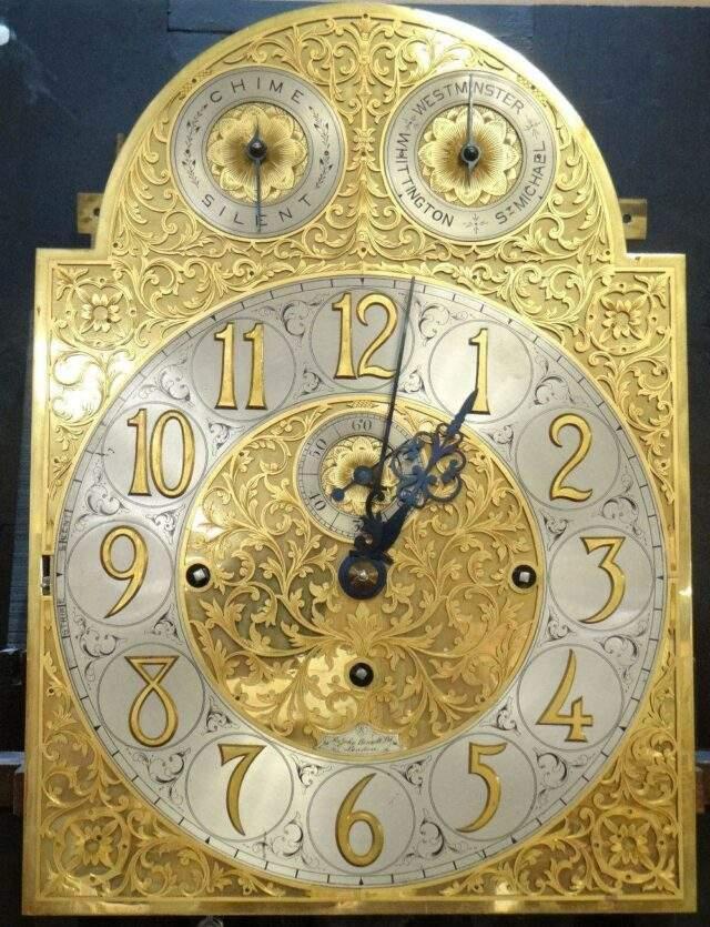 Sir John Bennett Longcase Clock